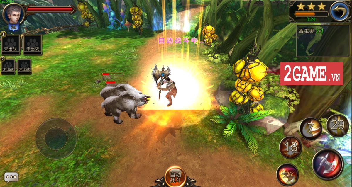 Trảm Thần Mobile - Game cho phép người chơi tàn sát mọi thứ cập bến Việt Nam 1