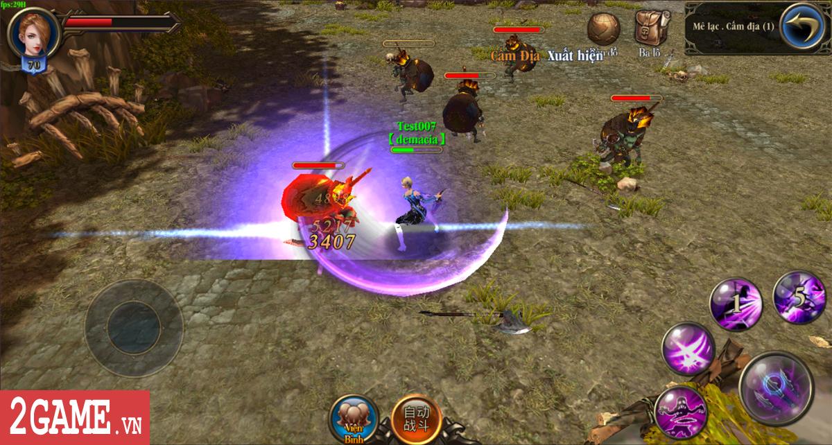 Trảm Thần Mobile - Game cho phép người chơi tàn sát mọi thứ cập bến Việt Nam 2