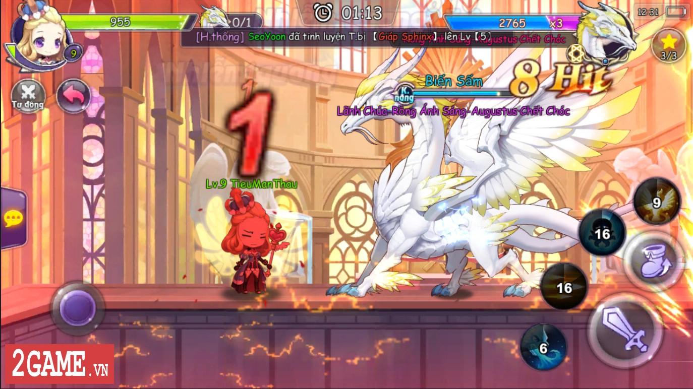 Cảm nhận Sứ Mệnh Rồng Mobile: Game nhập vai hành động đáng yêu vô cùng 3