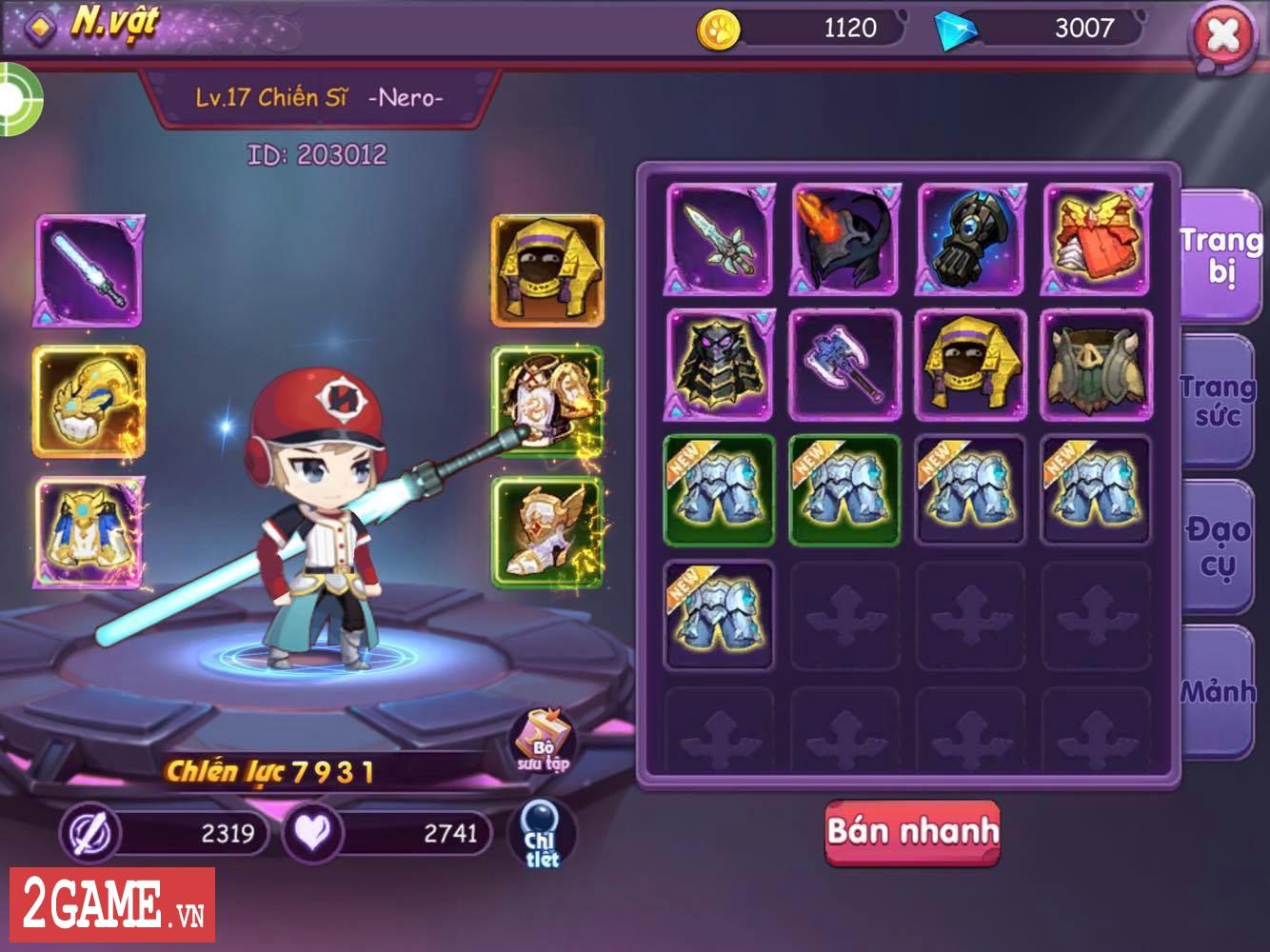 Cảm nhận Sứ Mệnh Rồng Mobile: Game nhập vai hành động đáng yêu vô cùng 6