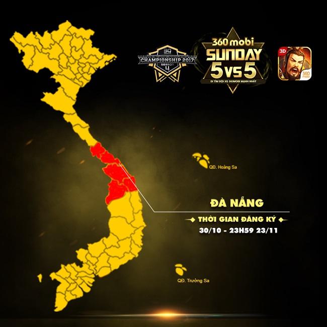 Đến Đà Nẵng tìm đội vô địch tham dự giải 360mobi Pro League 0