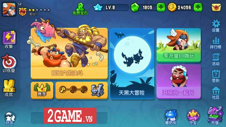 360mobi Ngôi Sao Bộ Lạc hé lộ nhân vật mới và chế độ chơi sinh tồn cực chất 1