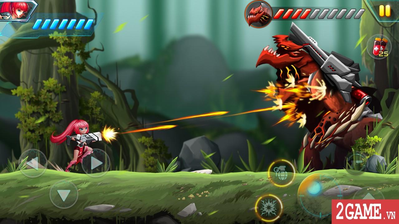 Metal Wings: Elite Force – Game nhập vai đi cảnh khá tương đồng với Rockman 0