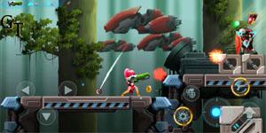 Metal Wings: Elite Force – Game nhập vai đi cảnh khá tương đồng với Rockman