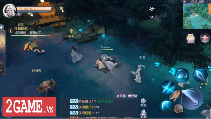 Top 8 game nhập vai có lối chơi gần giống Võ Lâm Truyền Kỳ Mobile nhất 5