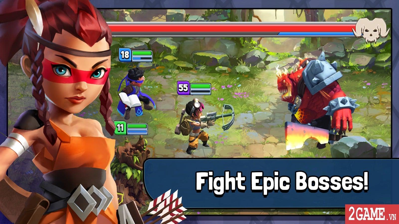 Dragonstone: Kingdoms – Game nhập vai chiến thuật kiểu cổ điển chơi cực nghiện