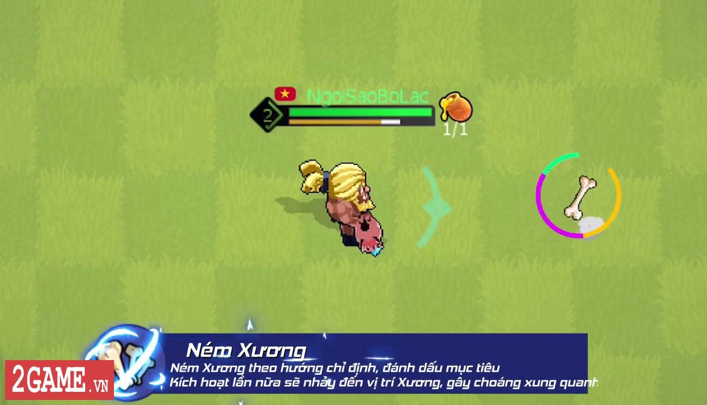 360mobi Ngôi Sao Bộ Lạc xuất hiện nhân vật mới hóa thú, ném xương đầy bá đạo 5