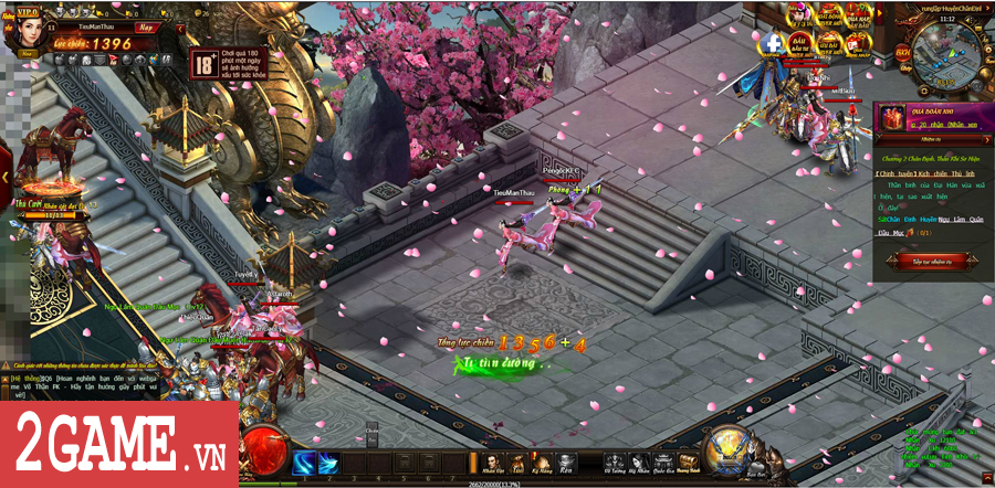 Trải nghiệm Võ Thần PK: Đánh nhau luôn là phần thú vị nhất của game này! 3