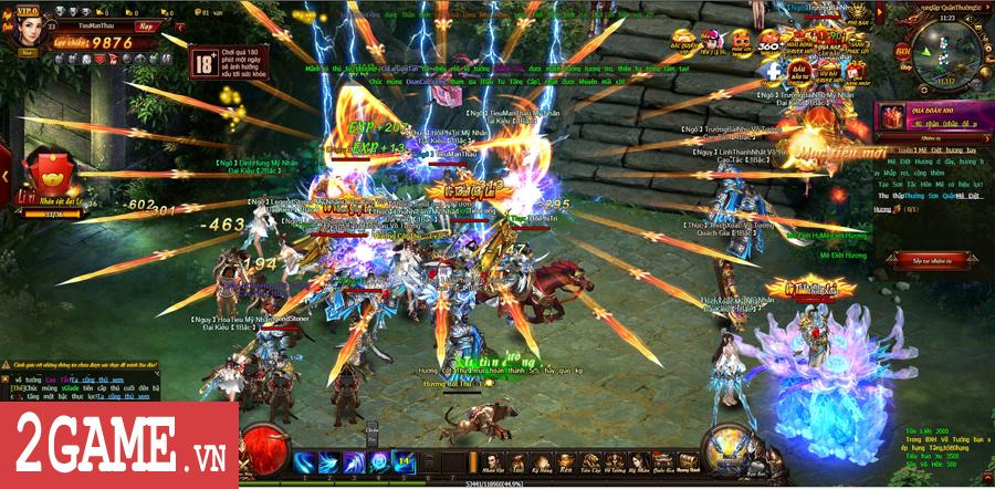 Trải nghiệm Võ Thần PK: Đánh nhau luôn là phần thú vị nhất của game này! 7