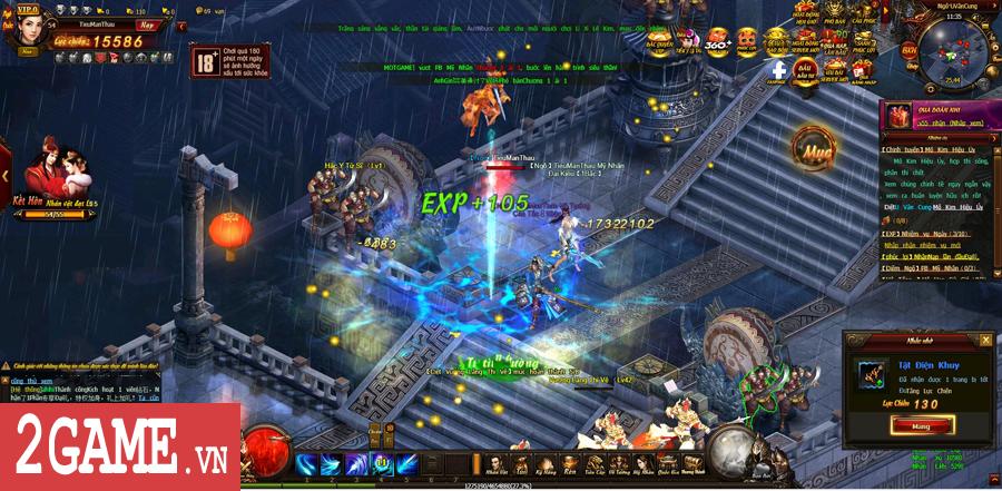 Trải nghiệm Võ Thần PK: Đánh nhau luôn là phần thú vị nhất của game này! 5