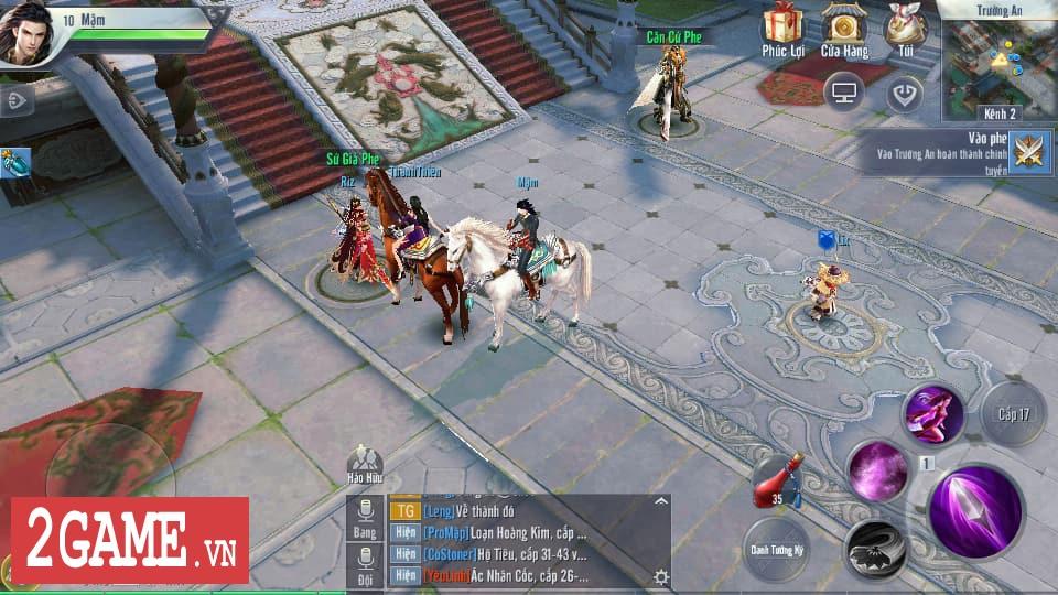 Đại Đường Võ Lâm VNG chính thức bước vào phiên bản Open Beta 3