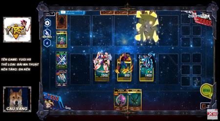Cậu Vàng dung hợp bài ma thuật siêu bá đạo trong Yugi H5