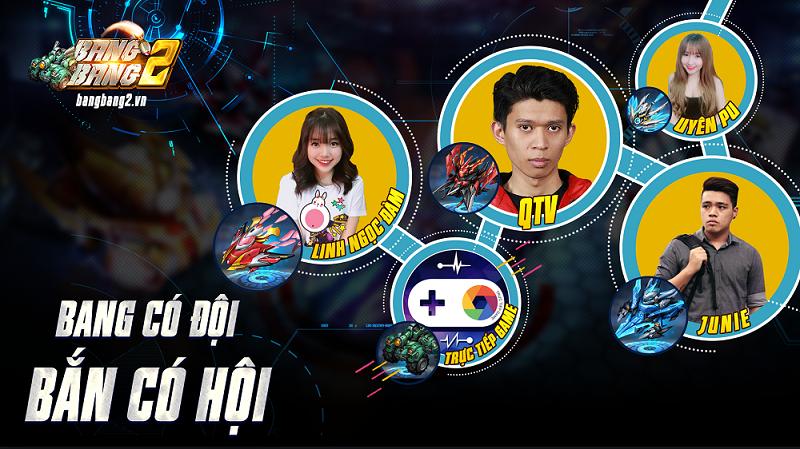 Rất nhiều tuyển thủ, streamer nổi tiếng hẹn so tài trong BangBang 2 1