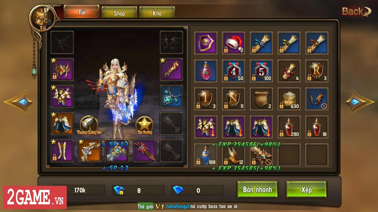 Trải nghiệm Vĩnh Hằng Kỷ Nguyên Mobile: Game nhập vai lấy đề tài Chúa Nhẫn đầy mới mẻ 4