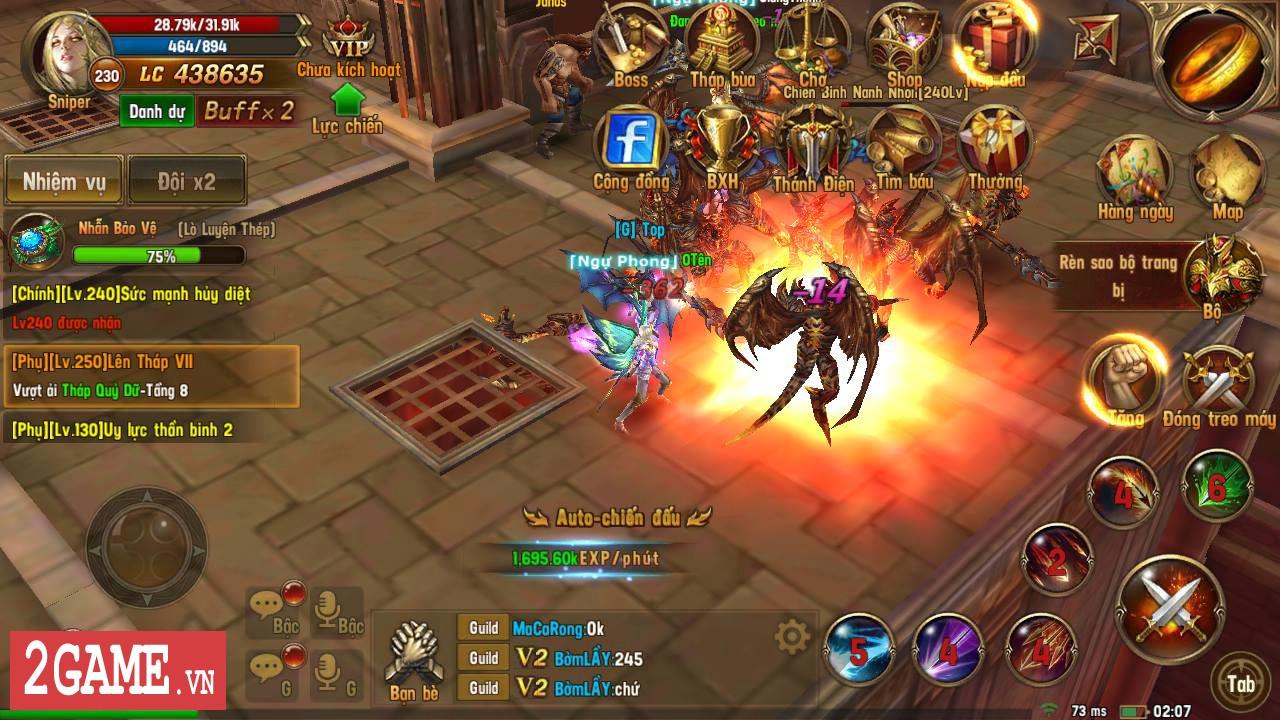 Trải nghiệm Vĩnh Hằng Kỷ Nguyên Mobile: Game nhập vai lấy đề tài Chúa Nhẫn đầy mới mẻ 15