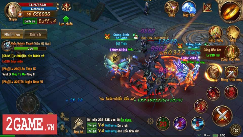 Trải nghiệm Vĩnh Hằng Kỷ Nguyên Mobile: Game nhập vai lấy đề tài Chúa Nhẫn đầy mới mẻ 6