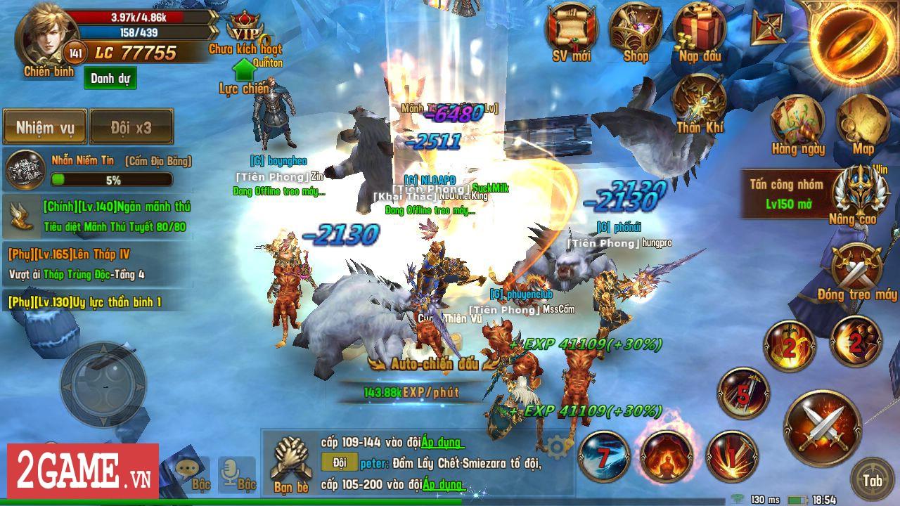 Trải nghiệm Vĩnh Hằng Kỷ Nguyên Mobile: Game nhập vai lấy đề tài Chúa Nhẫn đầy mới mẻ 3