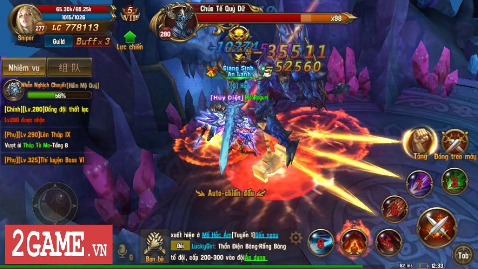 Trải nghiệm Vĩnh Hằng Kỷ Nguyên Mobile: Game nhập vai lấy đề tài Chúa Nhẫn đầy mới mẻ 13