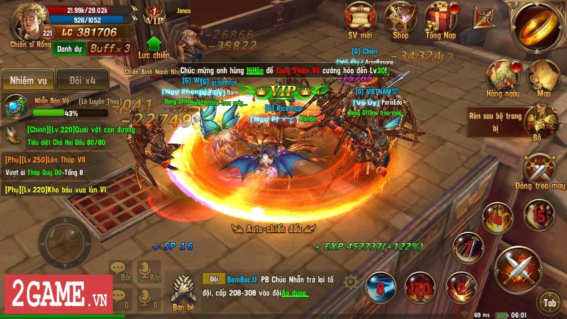 Trải nghiệm Vĩnh Hằng Kỷ Nguyên Mobile: Game nhập vai lấy đề tài Chúa Nhẫn đầy mới mẻ 16