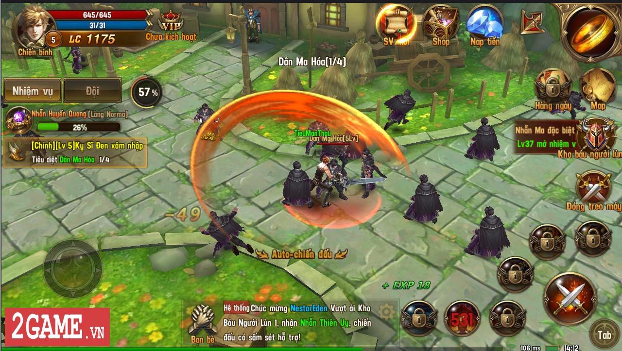 Trải nghiệm Vĩnh Hằng Kỷ Nguyên Mobile: Game nhập vai lấy đề tài Chúa Nhẫn đầy mới mẻ 1