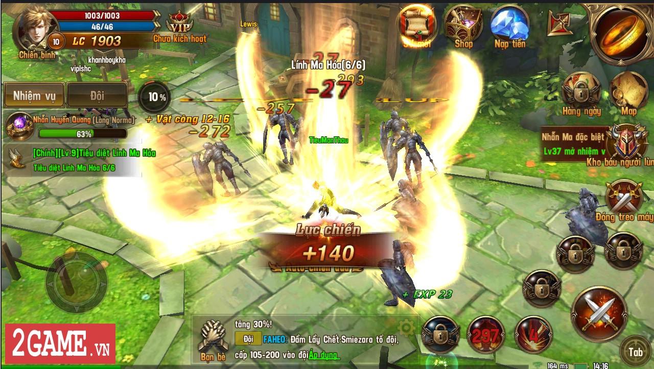 Trải nghiệm Vĩnh Hằng Kỷ Nguyên Mobile: Game nhập vai lấy đề tài Chúa Nhẫn đầy mới mẻ 7