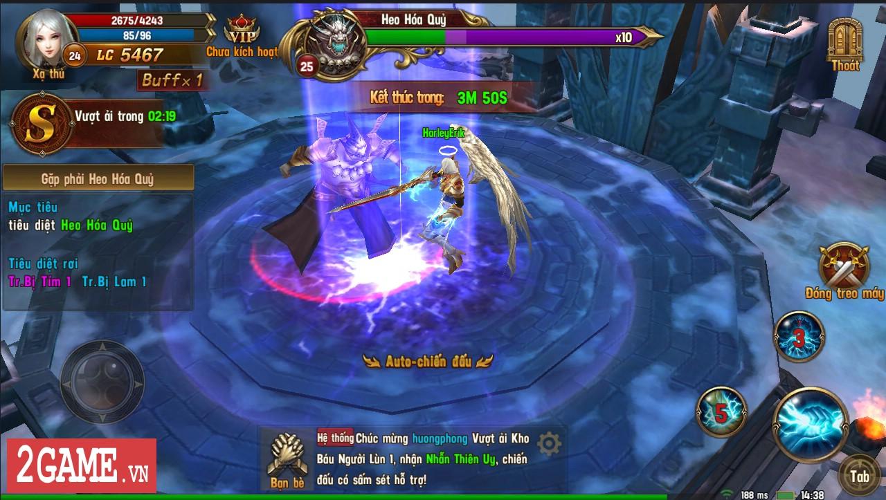 Trải nghiệm Vĩnh Hằng Kỷ Nguyên Mobile: Game nhập vai lấy đề tài Chúa Nhẫn đầy mới mẻ 2