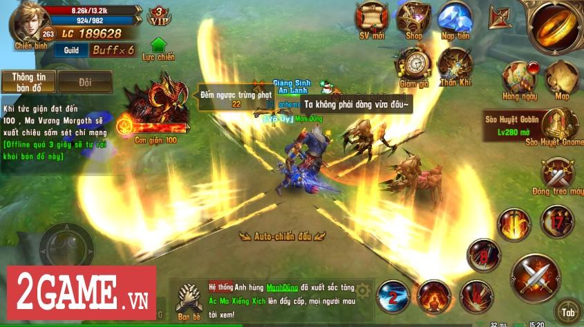 Trải nghiệm Vĩnh Hằng Kỷ Nguyên Mobile: Game nhập vai lấy đề tài Chúa Nhẫn đầy mới mẻ 11