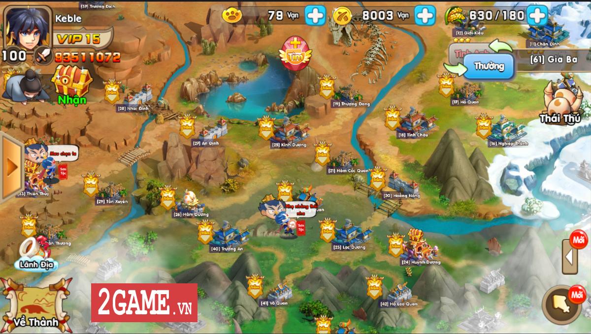 Huấn Long Mobile: Khi mãnh tướng Tam Quốc cưỡi Rồng, Khủng long ra chiến trận 3