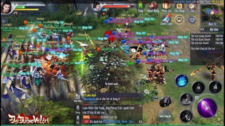 Nhiều game thủ thích thú với các màn PK triền miên trong Đại Đường Võ Lâm VNG