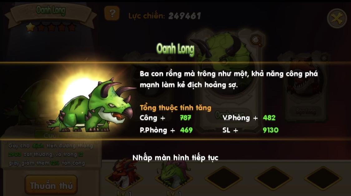 Đặt chân vào Huấn Long VNG đi khám phá sức mạnh 6 Thần Long trên Đảo Rồng 9