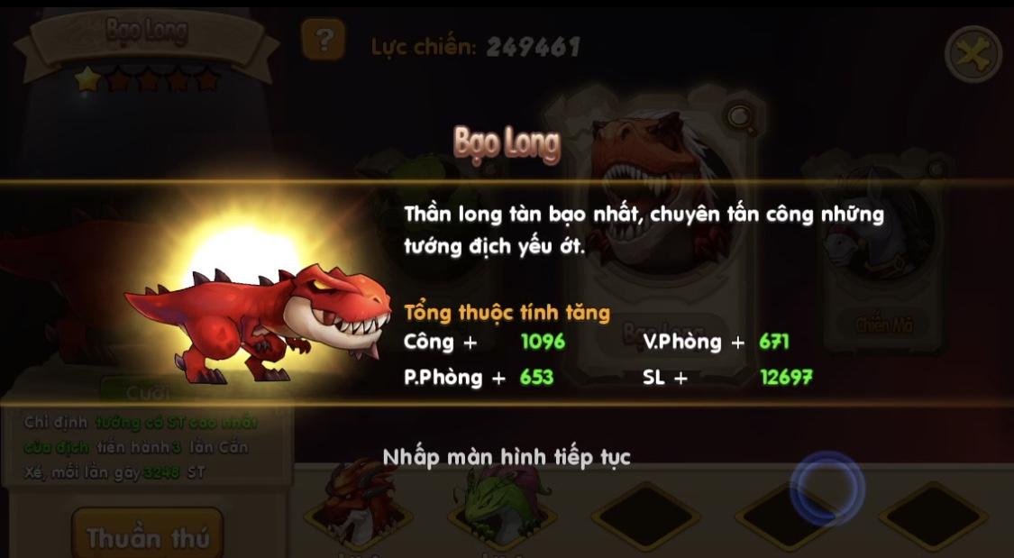 Đặt chân vào Huấn Long VNG đi khám phá sức mạnh 6 Thần Long trên Đảo Rồng 2