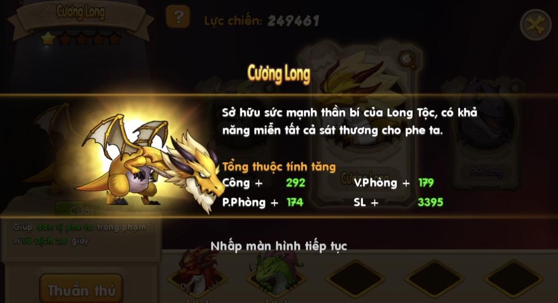 Đặt chân vào Huấn Long VNG đi khám phá sức mạnh 6 Thần Long trên Đảo Rồng 5