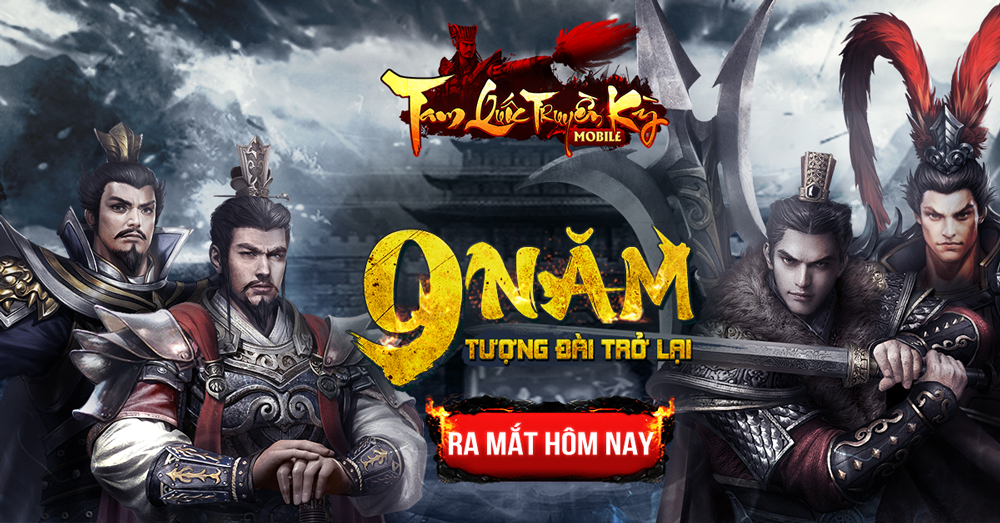 Tặng 345 giftcode Tam Quốc Truyền Kỳ Mobile 0