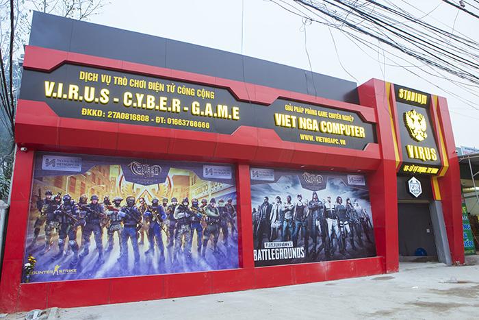 Virus Esport Stadium - Thêm một Cybergame khủng và tối tân nhất Việt Nam sắp khai trương 0