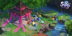 Cận cảnh webgame Sở Kiều bản Việt hóa đẹp lung linh như phim