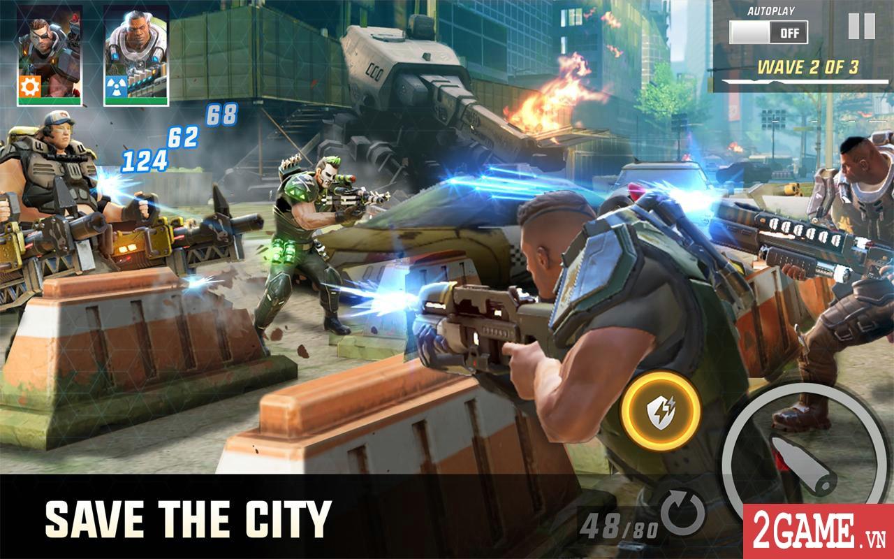 Hero Hunters - Phiên bản game