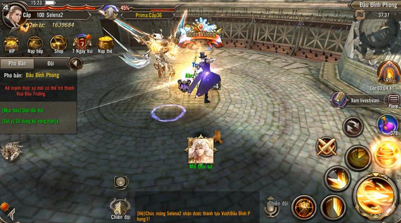 Trò Chơi Vương Quyền Mobile chính thức công phá làng game Việt 1