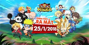 Liên Quân Manga – Game mobile mới cực vui cực bựa cập bến Việt Nam