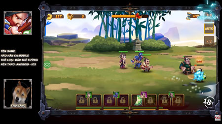 Cậu Vàng hóa thân thành 108 Anh Hùng Lương Sơn trong game Hảo Hán Ca mobile