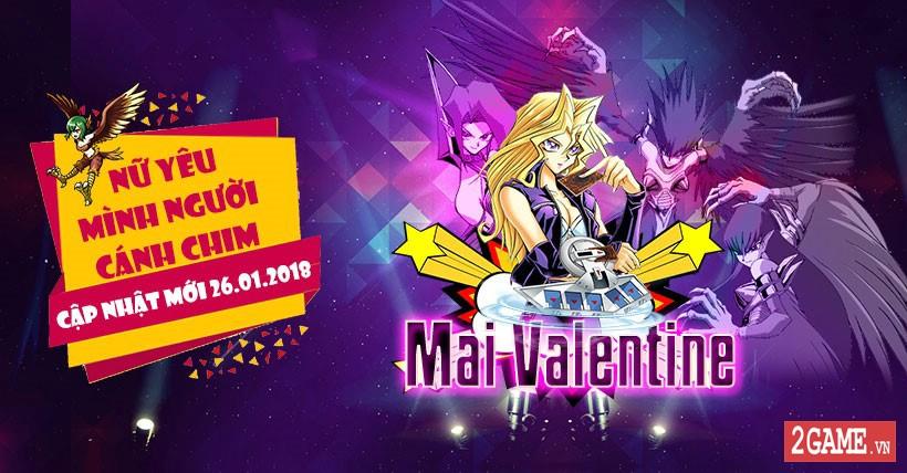 Hòa nhịp cùng U23 Việt Nam, game Yugi H5 liền ra mắt nhân vật mới Mai Valentine 0