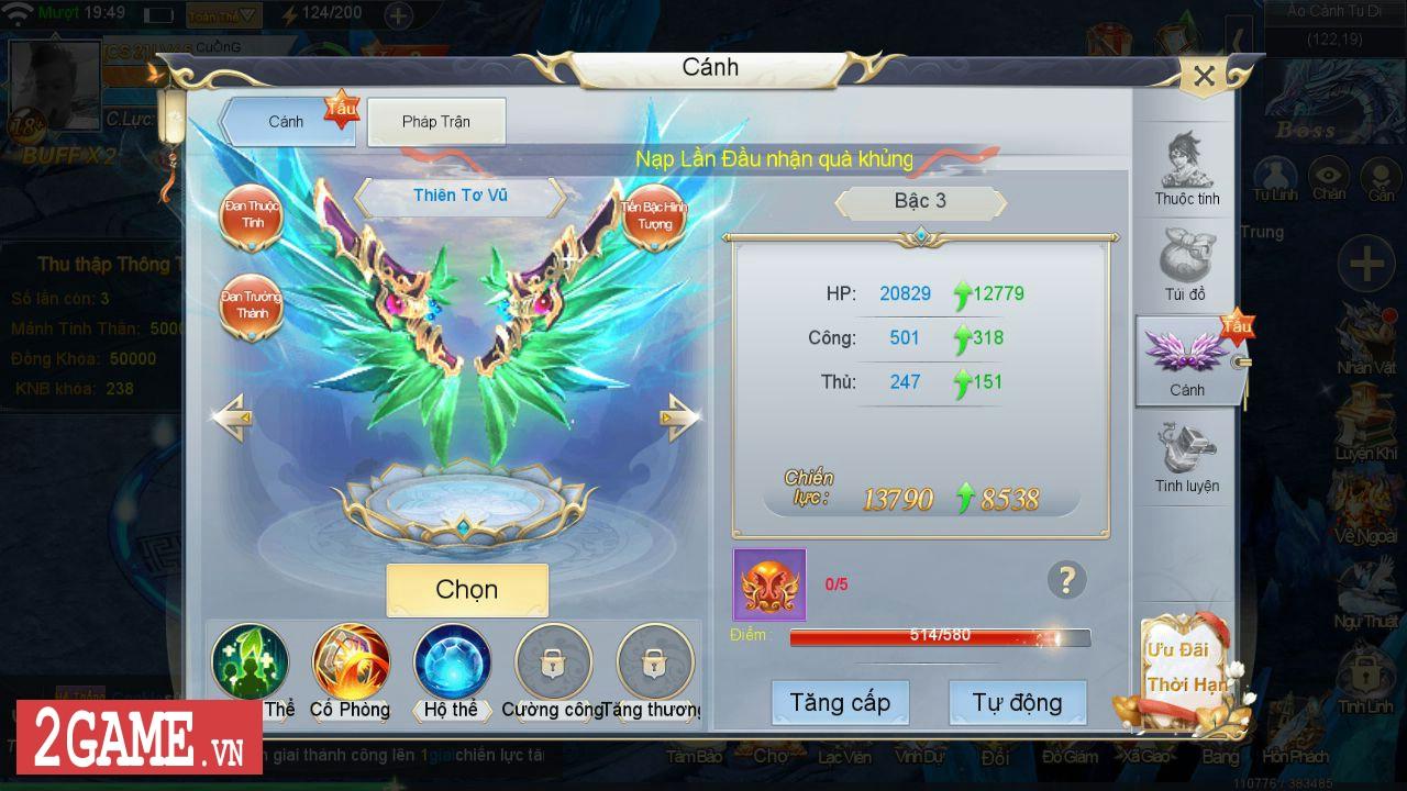Đánh giá Tiên Kiếm Truyền Kỳ Mobile: Lại thêm một game nhập vai kiểu bình bình nữa ở Việt Nam 2