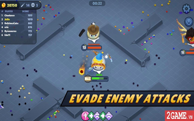 Jellynauts – Game IO chủ đề hoa quả loạn chiến cực kỳ vui nhộn 4