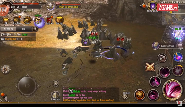 Trải nghiệm Trò Chơi Vương Quyền Mobile - Cảm giác gameplay cứ như Lineage II trên PC ấy 0