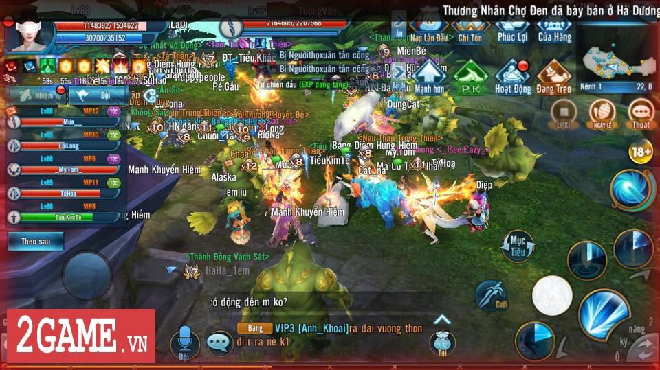 Tru Tiên 3D Gamota vẫn giữ được nhiệt sau hơn 6 tháng ra mắt thị trường game Việt 3