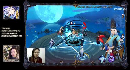 Mai Anh trải nghiệm Garena Âm Dương Sư Mobile: Game chất lượng Nhật không thể từ chối