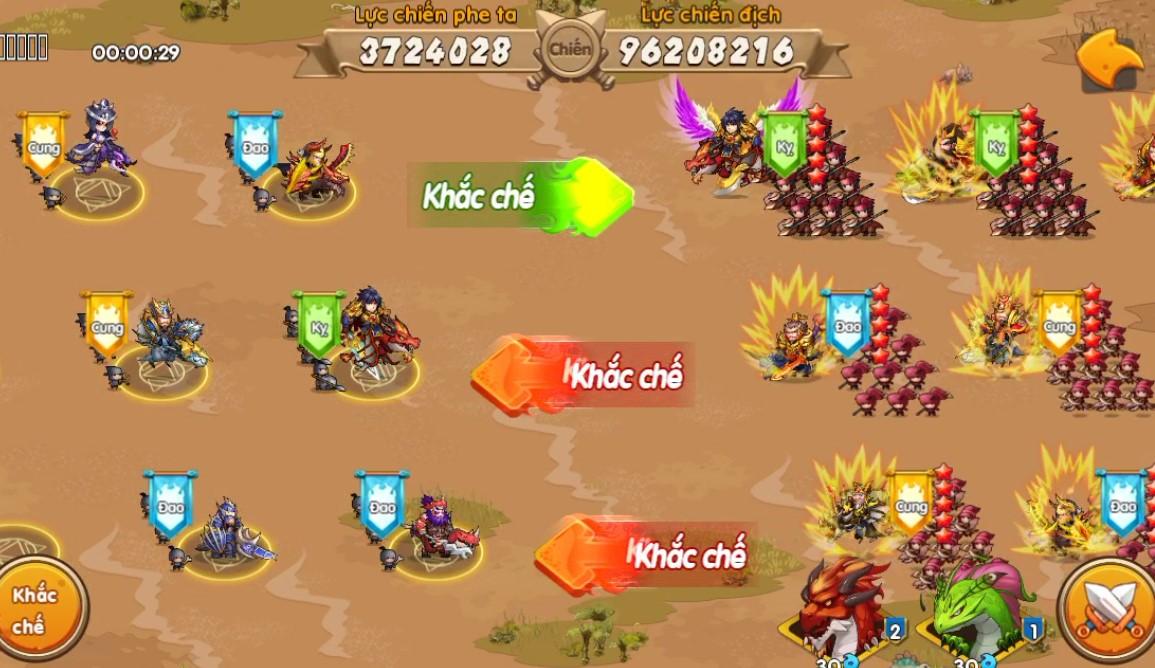 Toàn tập về Quân Đoàn Chiến, tính năng chiến khốc liệt nhất trong game Huấn Long VNG 9