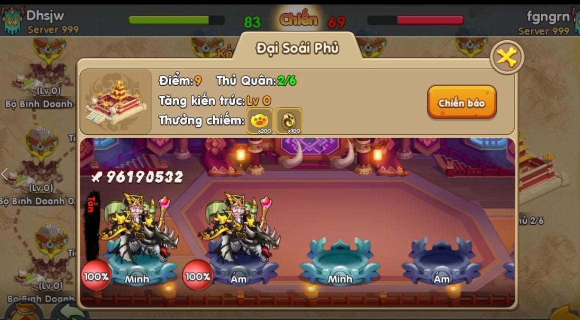 Toàn tập về Quân Đoàn Chiến, tính năng chiến khốc liệt nhất trong game Huấn Long VNG 1