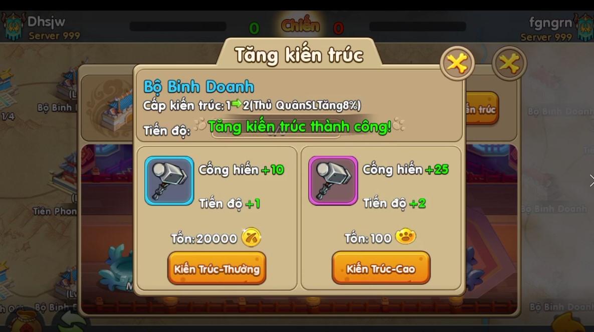 Toàn tập về Quân Đoàn Chiến, tính năng chiến khốc liệt nhất trong game Huấn Long VNG 3