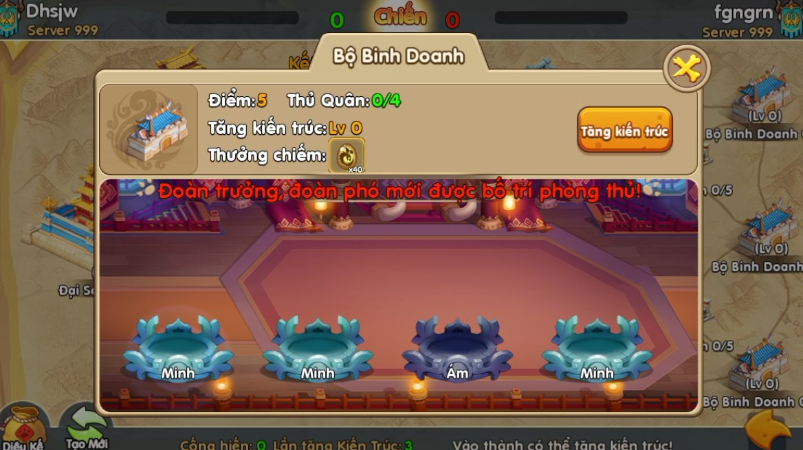 Toàn tập về Quân Đoàn Chiến, tính năng chiến khốc liệt nhất trong game Huấn Long VNG 4