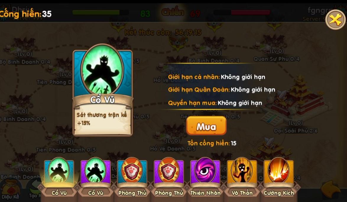 Toàn tập về Quân Đoàn Chiến, tính năng chiến khốc liệt nhất trong game Huấn Long VNG 6